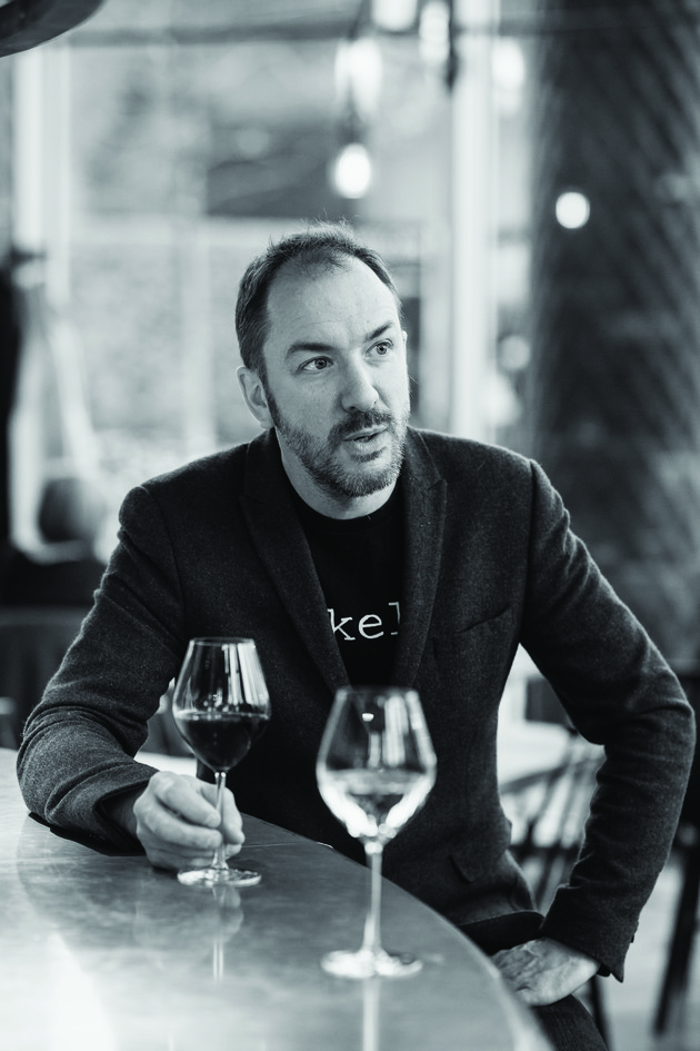 Charlie Young, co-owner, Vinoteca, London