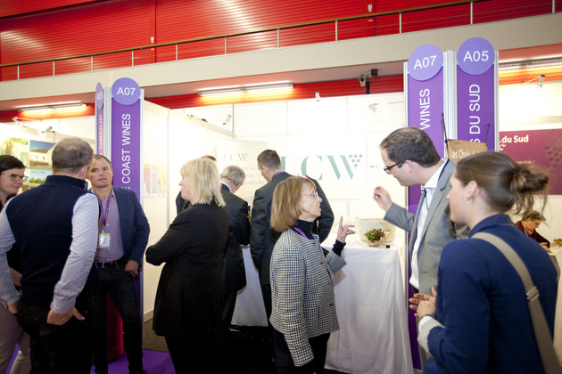 Place for business at World Bulk Wine Exhibition