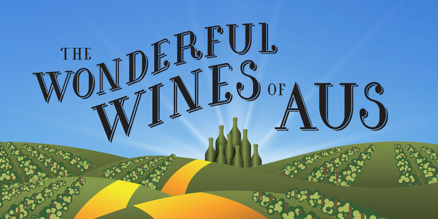 The new 'Wonderful Wines of Aus' campaign will run throughout April