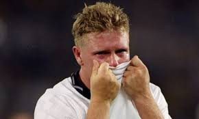 Gazza's tears