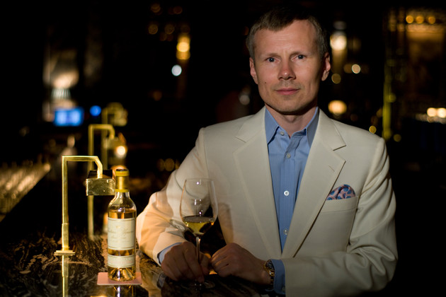 Leonid Shutov, the Russian restaurateur behind Bob Bob Ricard and the new £15m Biblioteka