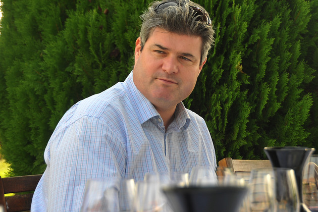 Director of independent sales at North South Wines, Mark Motley