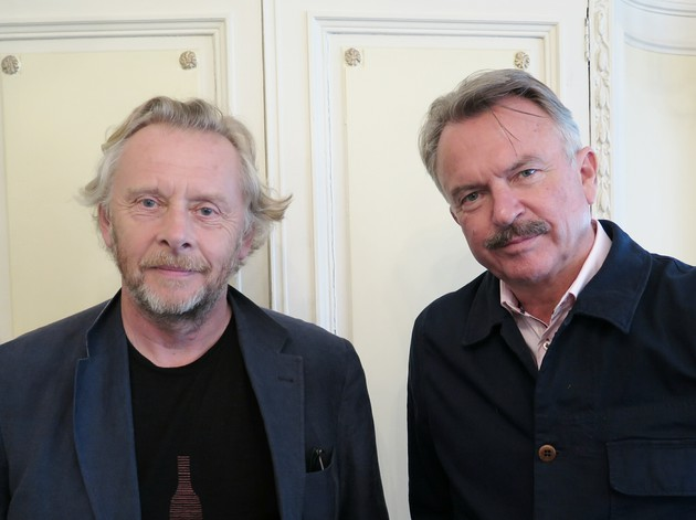 Pinot Noir pioneers: Nigel Greening and Sam Neill