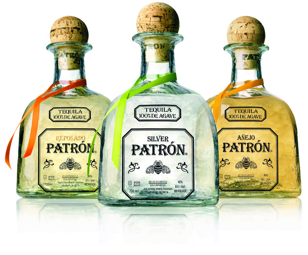 Patron tequilas and liqueurs will now be distributed in the UK  by BBFB