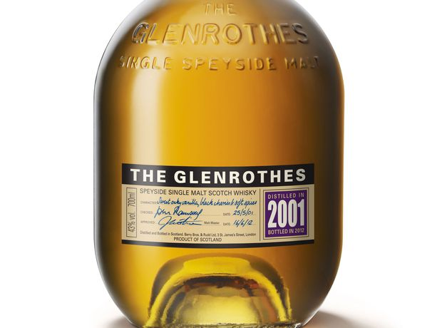 The Glenrothes releases 2001 vintage Scotch whisky